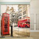 London vintageαυτοκόλλητο  ντουλάπας
