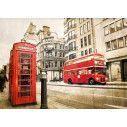 London vintage,αυτοκόλλητο  ντουλάπας
