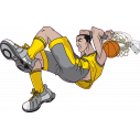 Wall stickers Basketball dunk 5