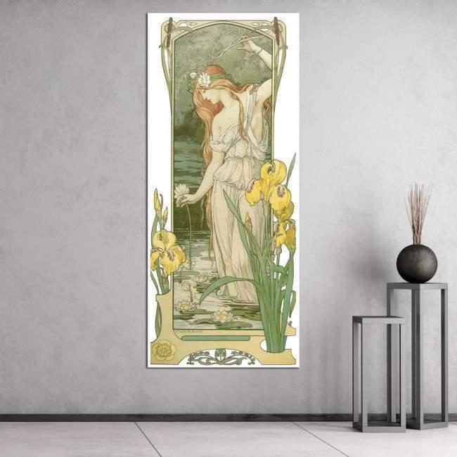 Πίνακας ζωγραφικής Fleurs des champs II, Sonrel Elisabeth, αντίγραφο σε καμβά