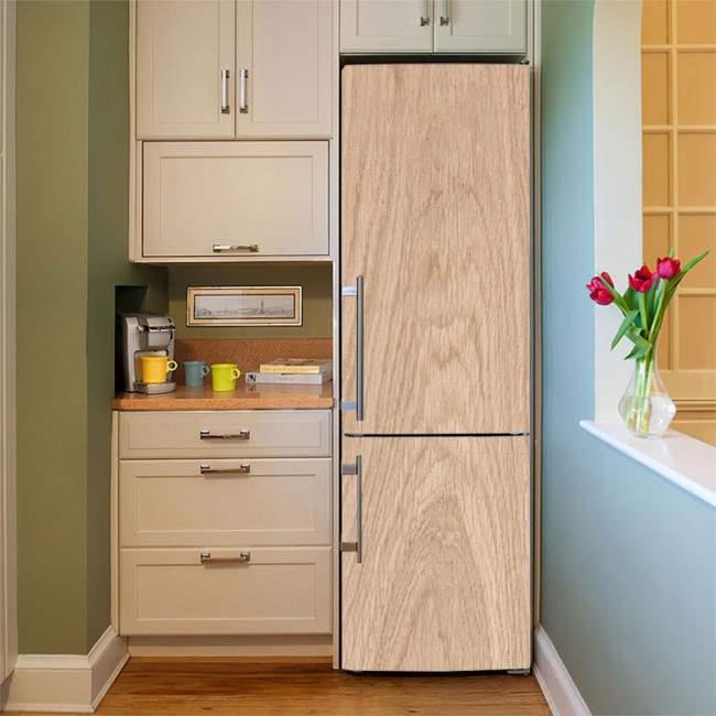 Αυτοκόλλητο ψυγείου Δρυς