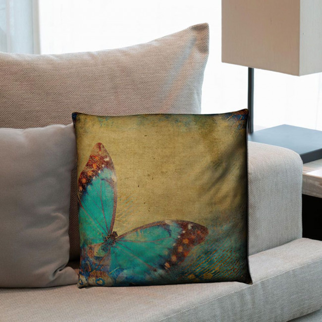 Pillow Butterfly artistic 2