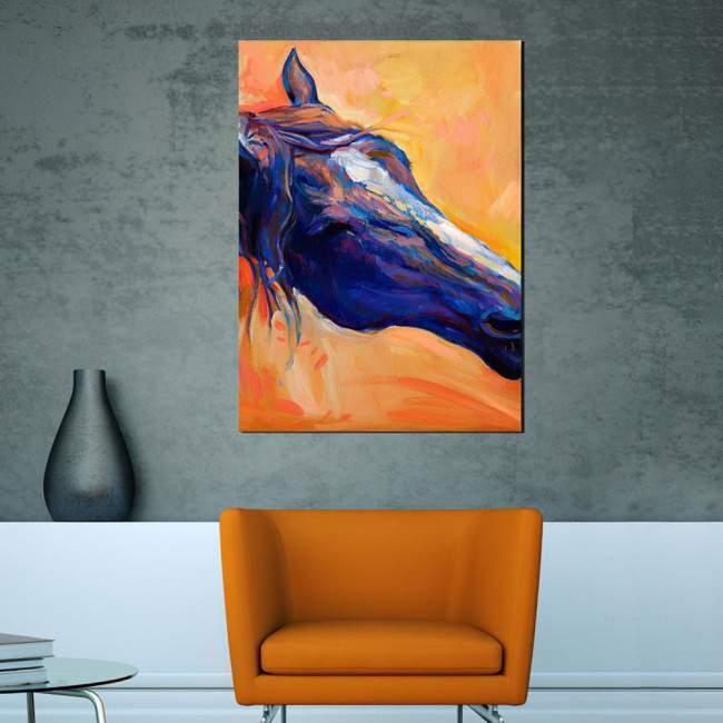 Canvas print Horse (art I)