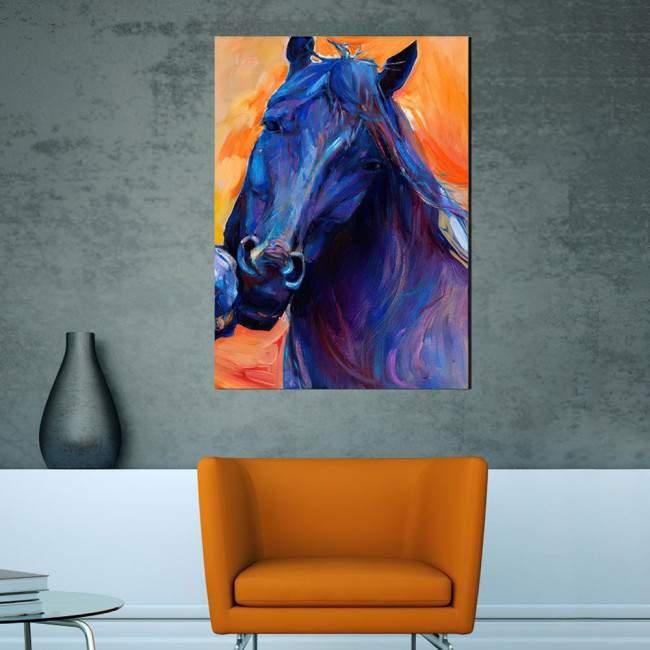 Πίνακας σε καμβά Horse (art2)