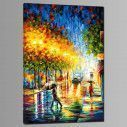 Canvas print City reflections, side
