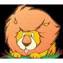 Αστείο Λιοντάρι | Αυτοκόλλητο τοίχου
