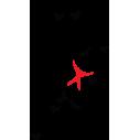Άνθρωπος Που Πετά Με Τα Πουλιά, αυτοκόλλητο τοίχου, κοντινό