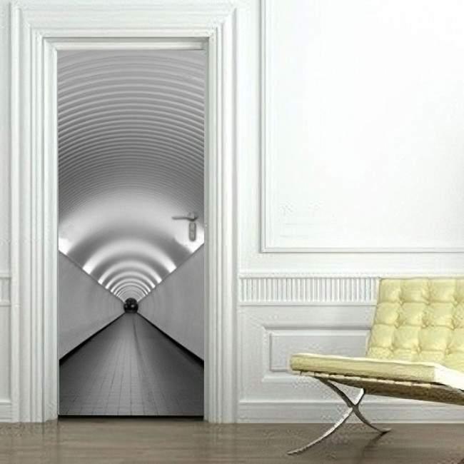 Αυτοκόλλητο πόρτας Διάδρομος Ι
