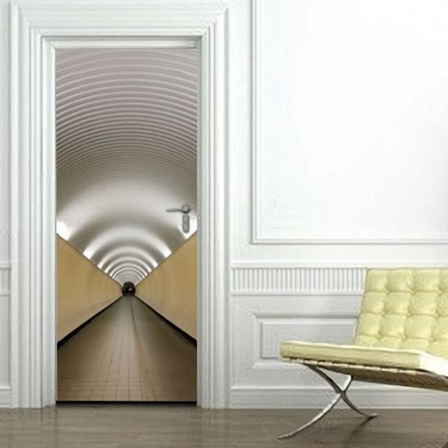Αυτοκόλλητο πόρτας Διάδρομος  III