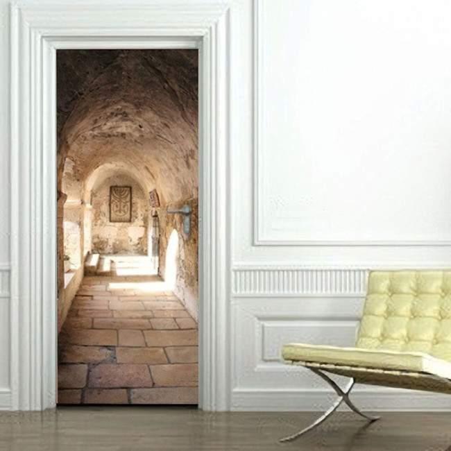 Αυτοκόλλητο πόρτας Διάδρομος IV