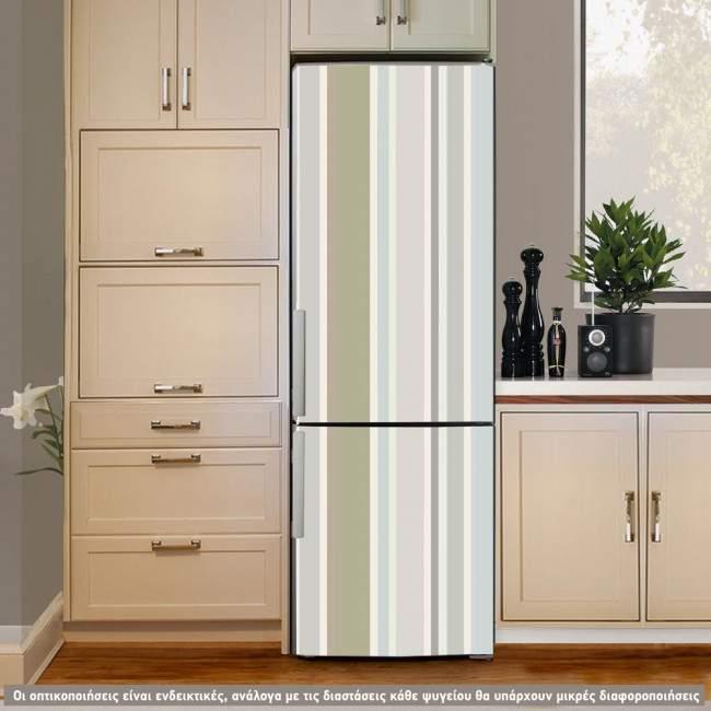 Αυτοκόλλητο ψυγείου Stripes