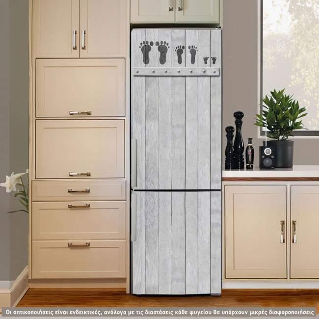 Αυτοκόλλητο ψυγείου Family