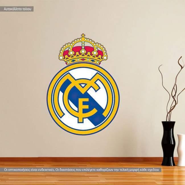 Αυτοκόλλητο τοίχου Real Madrid