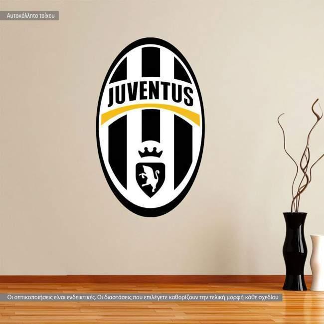 Αυτοκόλλητο τοίχου Juventus FC
