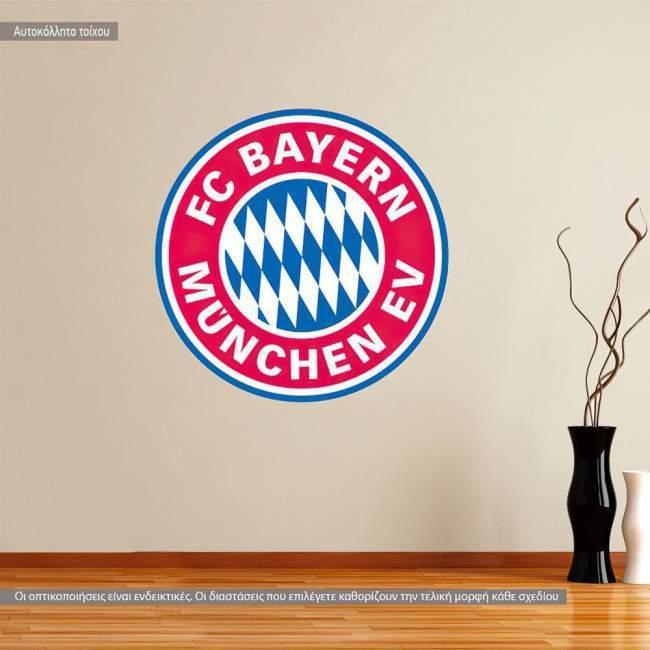 Αυτοκόλλητο τοίχου Bayern FC