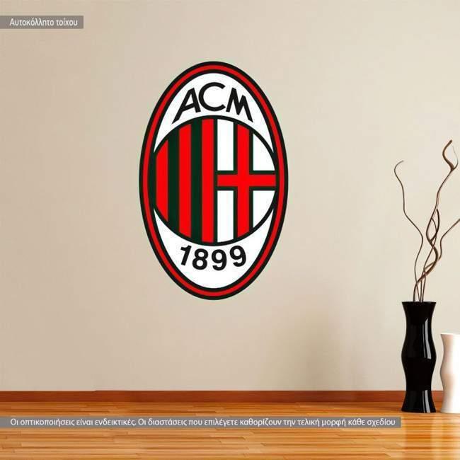 Αυτοκόλλητο τοίχου Milan AC