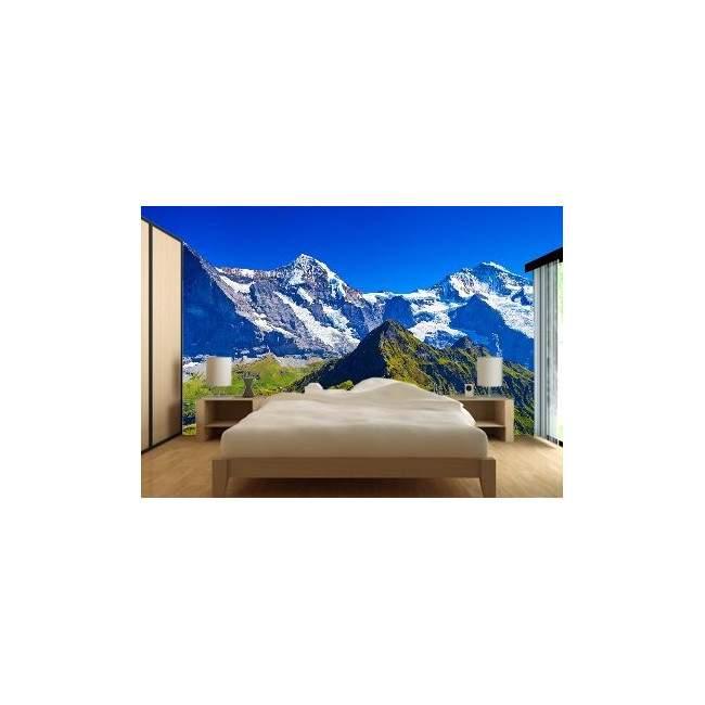 Ταπετσαρία τοίχου Χιονισμένο βουνό