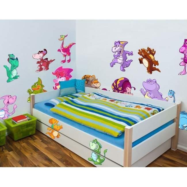Αυτοκόλλητο τοίχου παιδικό δεινόσαυροι, Ο χώρος των δεινοσαύρων