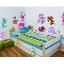 Kids wall stickers The Dinosaur Dance
