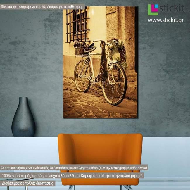 Canvas print Vintage bicycle