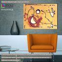 Πίνακας σε καμβά Autumn dance abstract