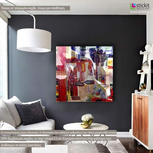 Πίνακας σε καμβά Abstract painting VI