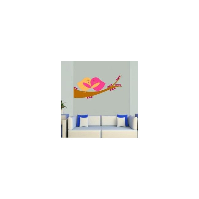 Wall stickers Embracing birds