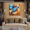 Canvas print Butterfly artistic