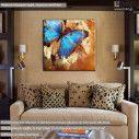 Πίνακας σε καμβά Πεταλούδα, Butterfly artistic
