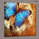 Canvas print Butterfly artistic, side
