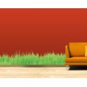 Αυτοκόλλητα τοίχου Χόρτα & γρασίδι
