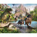 Wallpaper Dinosaur land