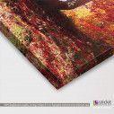 Autumn fantasy, πίνακας σε καμβά, λεπτομέρεια