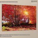 Autumn fantasy, πίνακας σε καμβά, κοντινό
