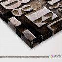 Typography II, πίνακας σε καμβά, λεπτομέρεια