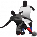 Ποδοσφαιριστής III, Αυτοκόλλητο τοίχου , κοντινό