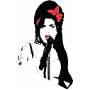 Wall stickers Amy Winehouse
