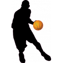 Wall stickers Basketball player