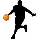 Wall stickers Basketball player 1