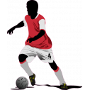Wall stickers Football player IV