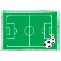 Wall stickers Football field