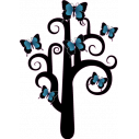 Wall stickers Butterflies tree