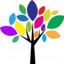 Wall stickers Colorful tree