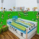 Wall stickers Little footballers