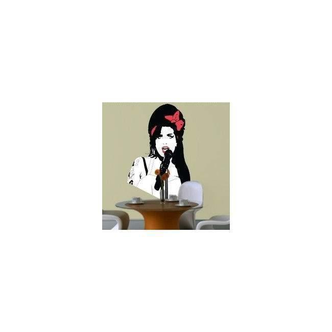 Αυτοκόλλητο τοίχου Amy Winehouse