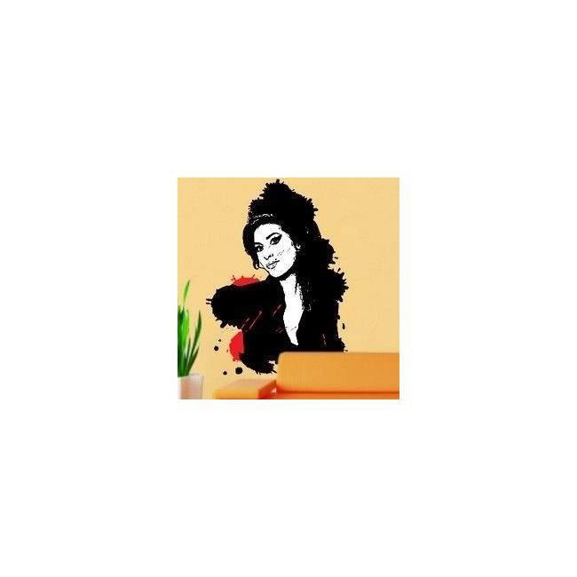 Αυτοκόλλητο τοίχου Amy Winehouse 1