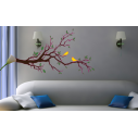 Wall stickers Singing birds yellow