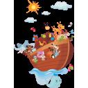 Κιβωτός του Νώε, Αυτοκόλλητο τοίχου