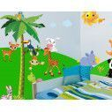 Wall stickers Land Animals