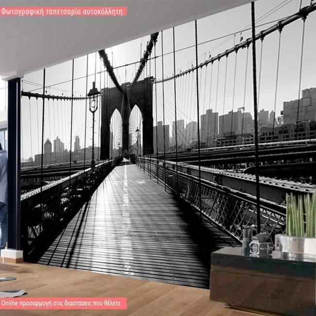Wallpaper Inside Brooklyn bridge